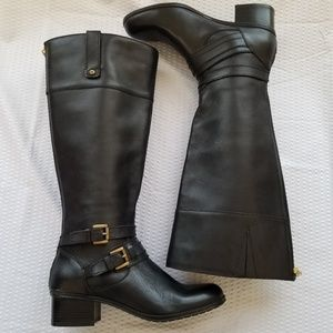 ccc8ae04ce5c Bandolino ✦ Black Tall Riding Boot Cavendish 5.5